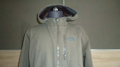 NORTH FACE Softshell-Jacke Gr. M Taupe TNF Apex Top Preis