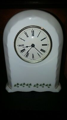 Claddagh China Galway, Ireland Porcelain Clock-Excellent Condition-Free Shipping