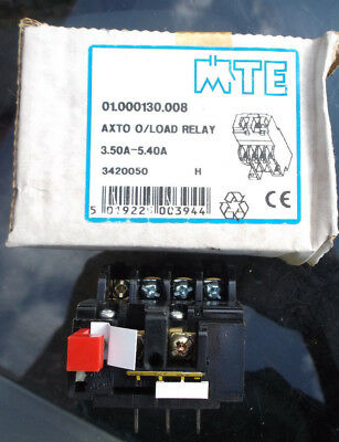 MTE Overload Relay 3.5A - 5.4A