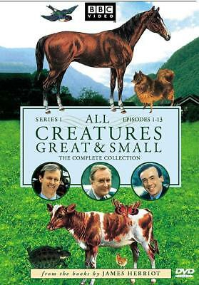 All Creatures Great & Small The Complete Series 1 Collection DVD  Like New