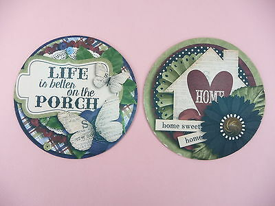 JAR OPENER Set of 2 Home Sweet Home Life Is Better On The Porch Bottle Coaster