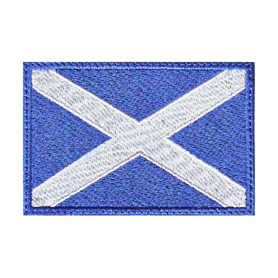 Scotland Flag Embroidered Patch