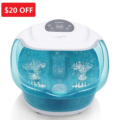 Foot Spa/Bath Massager with Bubble and Heat for Relaxation and Rejuvenation NEW