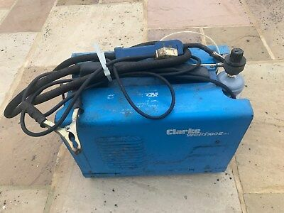 Clarke Mig Welder with Aluminium and steel gas MIG 100E needs attention
