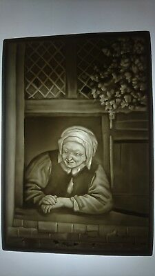 Stunning original Alexis du Tremblay lithophane