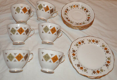 Colcolough Bone China Tea Set