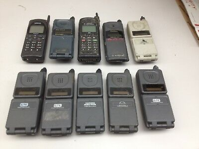 Lot of 10 Vintage Assorted Cell Phones AS IS | PH540