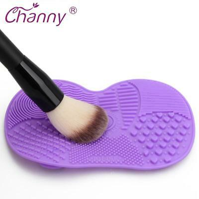 Silicone Brush Cleaner Mat Washing Tools for Cosmetic Make up Eyebrow Brushes Cl