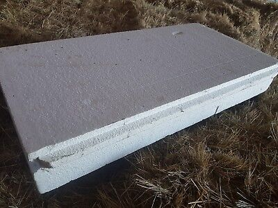POLYSTYRENE FOAM INSULATION SLABS 150mm thick