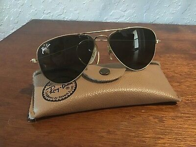 6802005eae57 VINTAGE RAY BAN Aviator Bausch & Lomb Sunglasses with Case - $52.00 ...