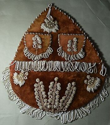 Large old American Indian beaded whimsy
