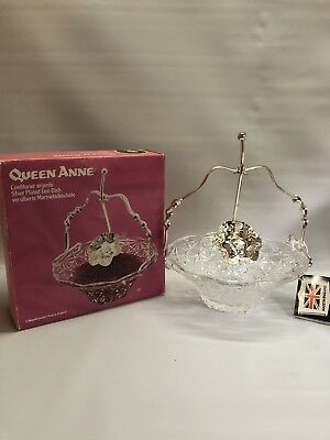 Queen Anne Jam Dish With Spoon Rest And Spoon Made In England