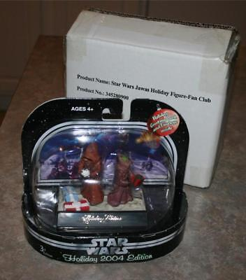 2004 Holiday Edition Star Wars Jawas Entertainment Earth Exclusive Member Set