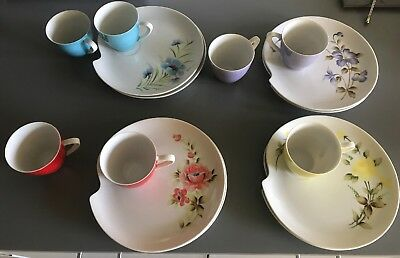 Royal Carlton Tea Cup And Plates; 15 Piece Set