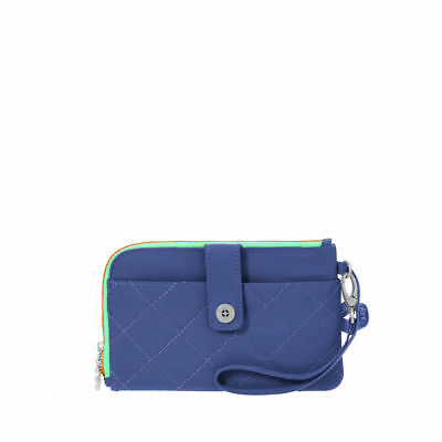 Baggallini RFID PASSPORT & PHONE WRISTLET - New w/Tags -ROYAL BLUE- Travel RFID