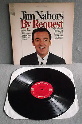 JIM NABORS  BY REQUEST  1966 Columbia Stereo Vinyl LP Record CS9465 Pop