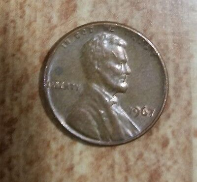 Lincoln penny 1967