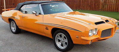 1971 Pontiac GTO Judge 1971 Pontiac GTO Judge Convertible (LeMans conversion)