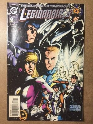Legionnaires #0 1st appearance of XS, Flash's grand daughter CW DC Comics