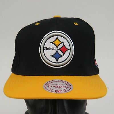 d039c944d4234 ... norway pittsburgh steelers snapback hat cap mitchell ness nfl nwt snap  back 874c6 fd3fb