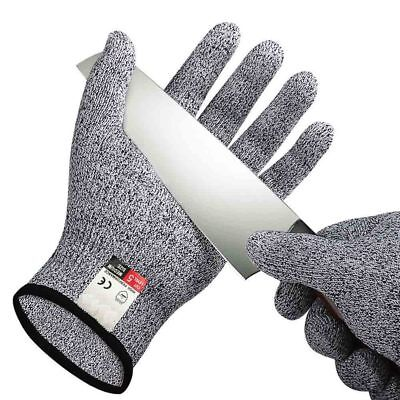 Level 5 Cut Resistant Gloves Anti-Cutting Food Grade Kitchen Butcher Protection