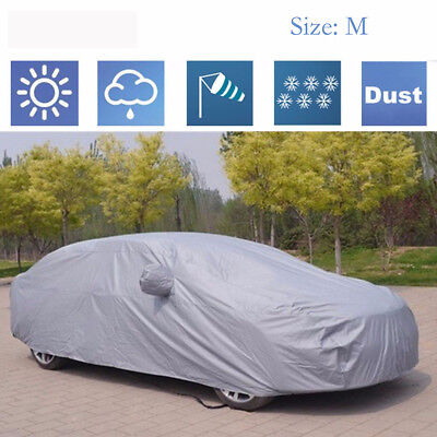 Heavy Duty Waterproof Car Cover Lining Scratch Proof Medium  Size Protection