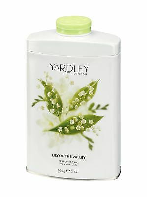 Yardley London Lily of the Valley Perfumed Talc 200g.