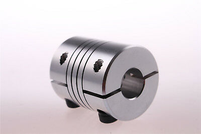 BR 6.35mm x 10mm Motor Shaft Coupler Flexible Coupling D25L30 AU