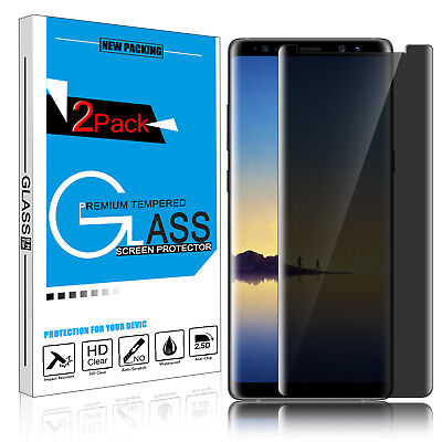 9H Privacy Anti-Spy Tempered Glass Screen Protector for Samsung Galaxy Note 8 /9