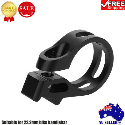 MTB Road Bike Bicycle Seat Post Saddle Clamps Clamp Quick Release 22.2mm 1PCS AU