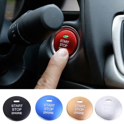 Universal Engine Button Replace Cover STOP Key For Mazda3 BM BN6 GJ1 GL CX4 CX5