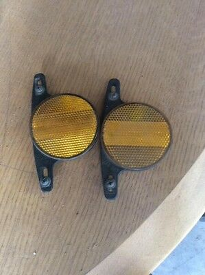 vintage bike bicycle bmx cat-eye reflectors. Free post