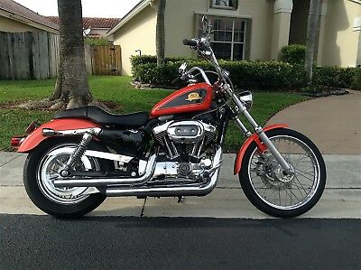 2007 Harley-Davidson Sportster  XL50th. ANNIVERSARY 1200C COLLECTORS LIMTED EDITON  0499/2000.. ORANGE 0499/1000