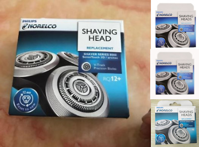 New shaver SH90 S9000 RQ12+ Replacement Blades Heads 3X GENUINE Norelco Philip