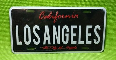 Los Angeles THE CITY OF ANGELS California LICENSE PLATE CA USA