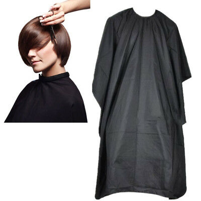 PROFESSIONAL SALON HAIR Cutting Nylon Cape Barber Hairdressing Gown ...