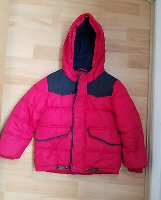 Boys Ted Baker Winter Coat, size 5 years - VGC