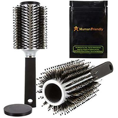 BeautyStash Diversion Safe Can Hair Brush - With Smell-Proof Bag By Container &