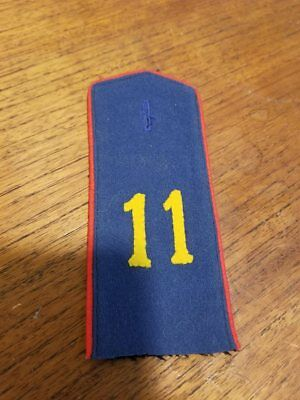 Imperial German Shoulder Tab WWI World War 1 Germany Uniform 11th Infantry
