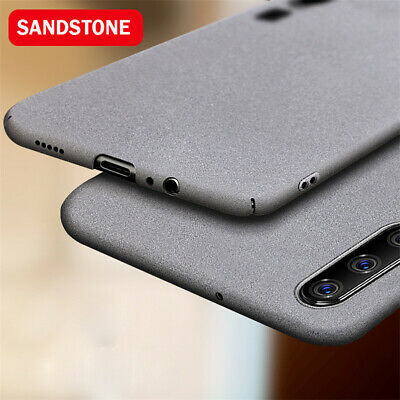 For Huawei P8 P9 P10 P20 Lite Luxury Sandstone Case Slim Hard & Soft Back Cover
