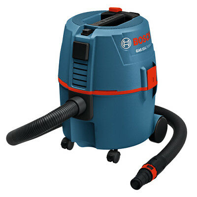 Bosch GAS15L Professional Corded Vacuum Cleaner Mobile Wet/Dry Dust Extractor
