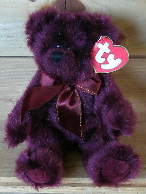 Teddy Beargundy, Ty Attic Treasures ca. 22 cm
