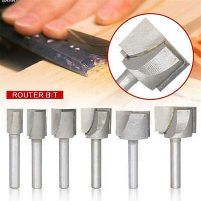 1/4'' Straight Cutter Router Bit Shank Woodworking Cleaning Bottom Router Bit UK