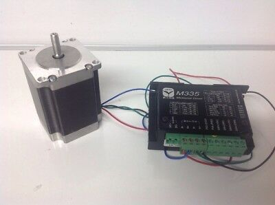 Stepping Motor With Microstep Driver