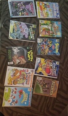 Children's comic lot Tail spin plus looney tunes plus chip and Dale Vary rare