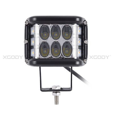 4 inch 45W Three-sided Flashing LED Work Light Combo Beam Off Road Driving Lamps