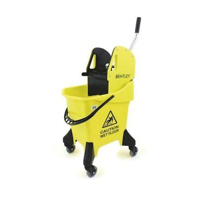 Hygineer Ergonomic Heavy Duty Mop Bucket Yellow 31 Litre HRMB31/Y [CX06299]