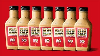 BRAND NEW Big Mac sauce 500ml