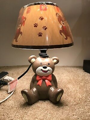 Teddy bear nursery  kids lamp