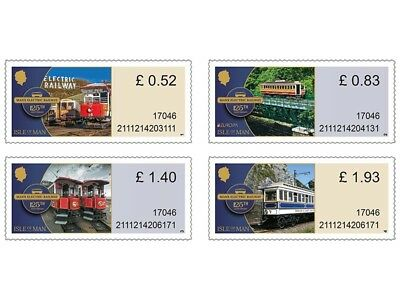 Manx Electric Railway Variable Value Definitives Set (WK33)